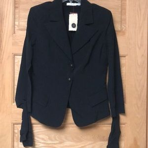 Pinko Black Button Blazer